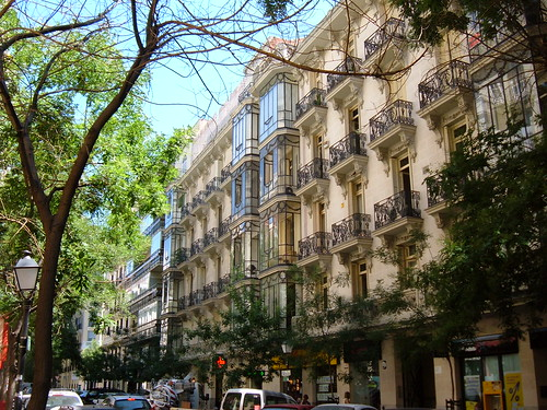 Calle castell barrio de salamanca madrid calle - Calle castello madrid ...