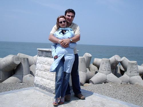 Mole Bandar E Anzali Iran Moj Shekan Mol May 2005