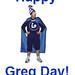Libraryman Celebrates Greg Day