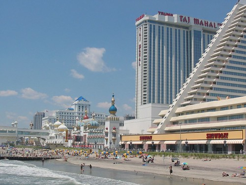 Atlantic City Boardwalk The North End Of The Atlantic