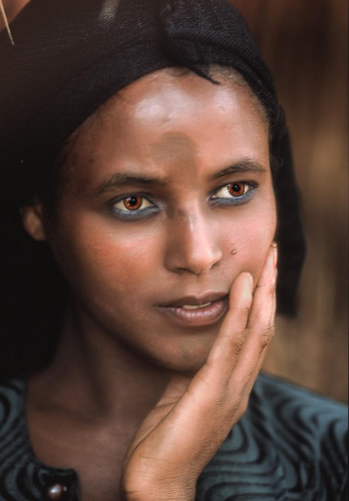 Ethiopian Woman  Along The Road Between Nekemte And -2550