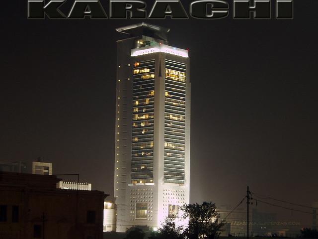 Desktop Wallpaper MCB Tower Karachi