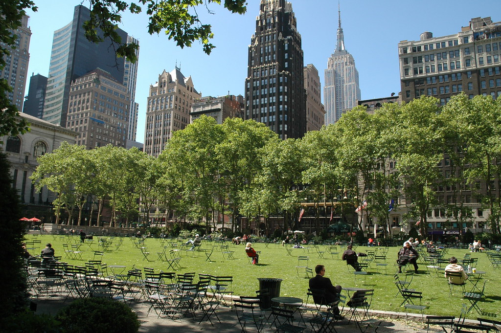 Sunny Day in Bryant Park | Brian Oberkirch | Flickr