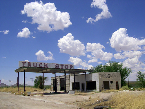 Here's a Truck Stop Instead of St. Peter's... | by darkhairedgirl