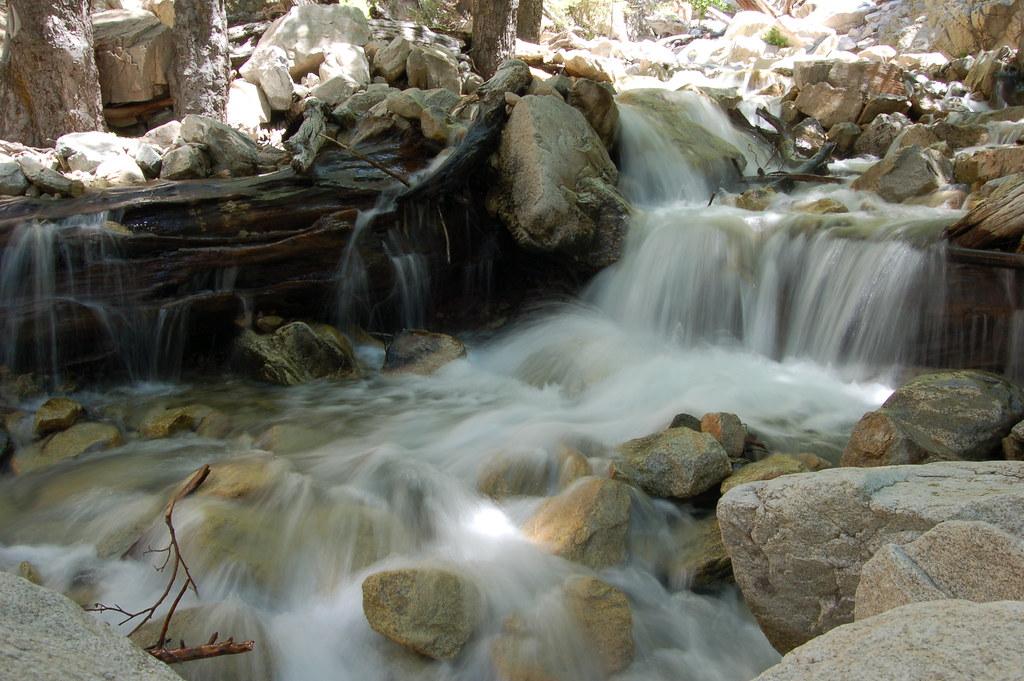 Big Falls Forest Falls California A Long Exposure Of A