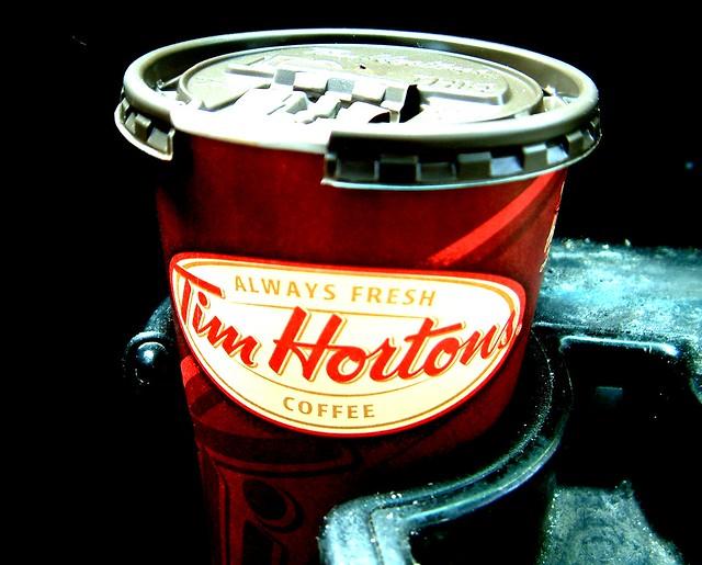 Tim Hortons Double Double