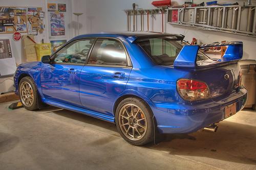 Hatchback >> 2006 Subaru WRX STI with Weds TC105N wheels | After a late n… | Flickr