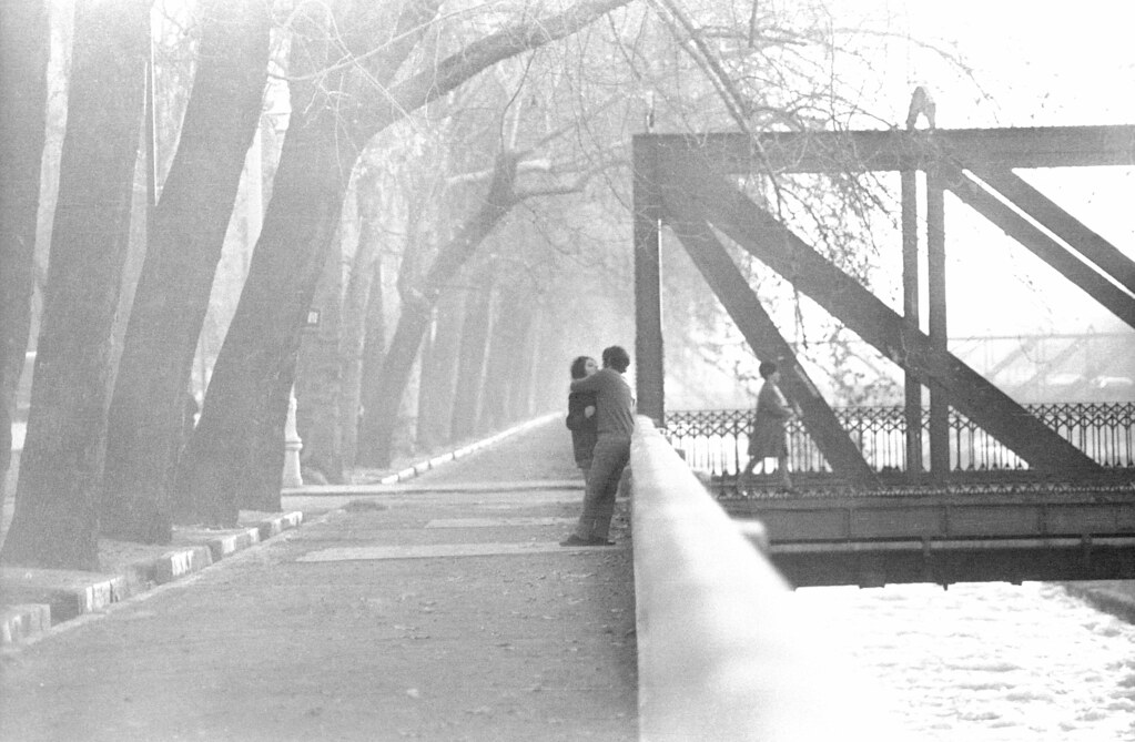 The Kiss by the Mapocho, Santiago, Chile 1964 | by Marcelo  Montecino