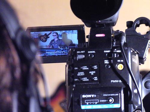 Aufzeichnung der Fernsehwerbung für die WDR Lokalzeit