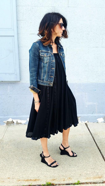3430c25c77bc11e2a73f22000a9e28ad_7, skirt worn as dress, black maxi skirt