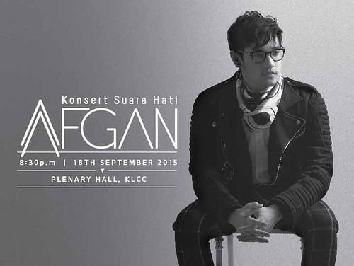 """""""Konsert Suara Hati Afgan"""""""