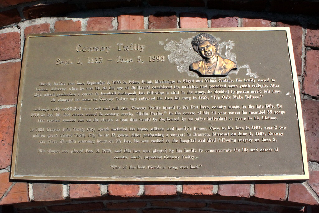 conway twitty plaque