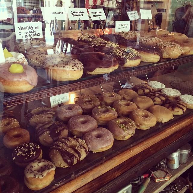 Leva life! #vadveganeräter på Dun-Well Doughnuts.