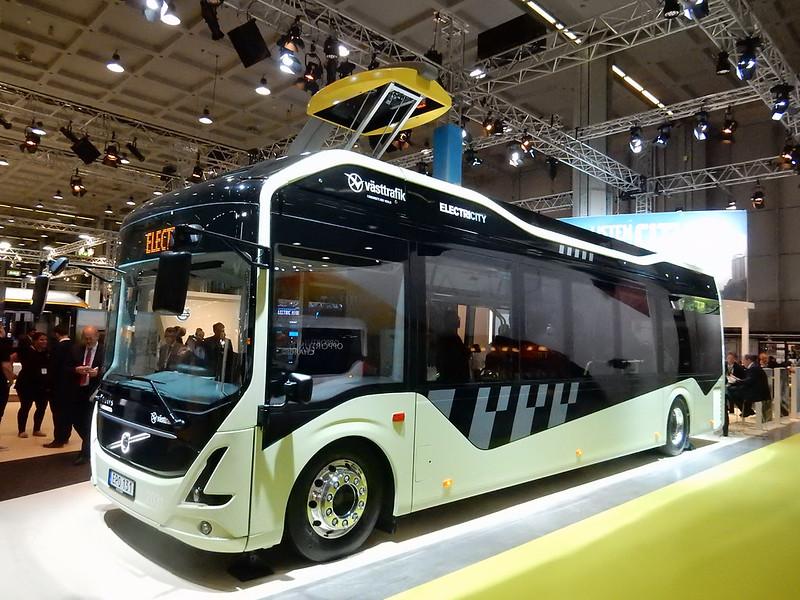 Volvo elbuss för ElectriCity, Göteborg