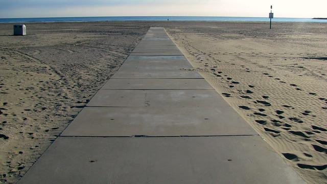 Tuesday evening walk in Ijmuiden-aan-Zee