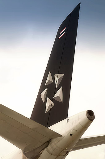 Thai Airways Star Alliance tail (Star Alliance)