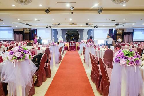 [高雄宴客場地推薦] 到尊龍大飯店參加好友婚禮幸福100% (5)