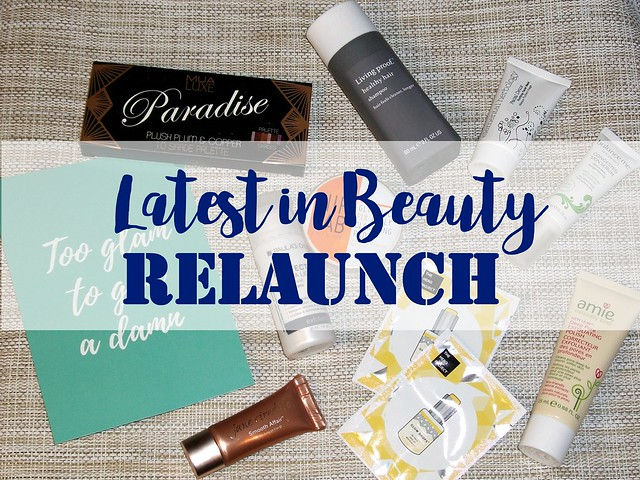 Latest in Beauty Relaunch