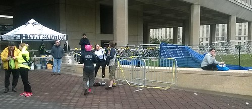 Bike Valet at Women's March on Washington
