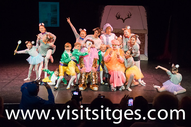 GALERIA FOTOS SITGES ENGLISH PANTOMIME 2017