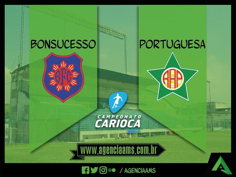 Bonsucesso x Portuguesa / 14/01/2017