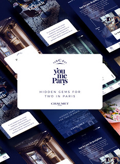 ¡You me Paris!: Chaumet presenta su app 'Paris city guide', solo para parejas