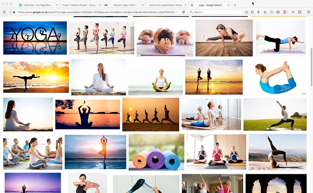yoga google screen grab