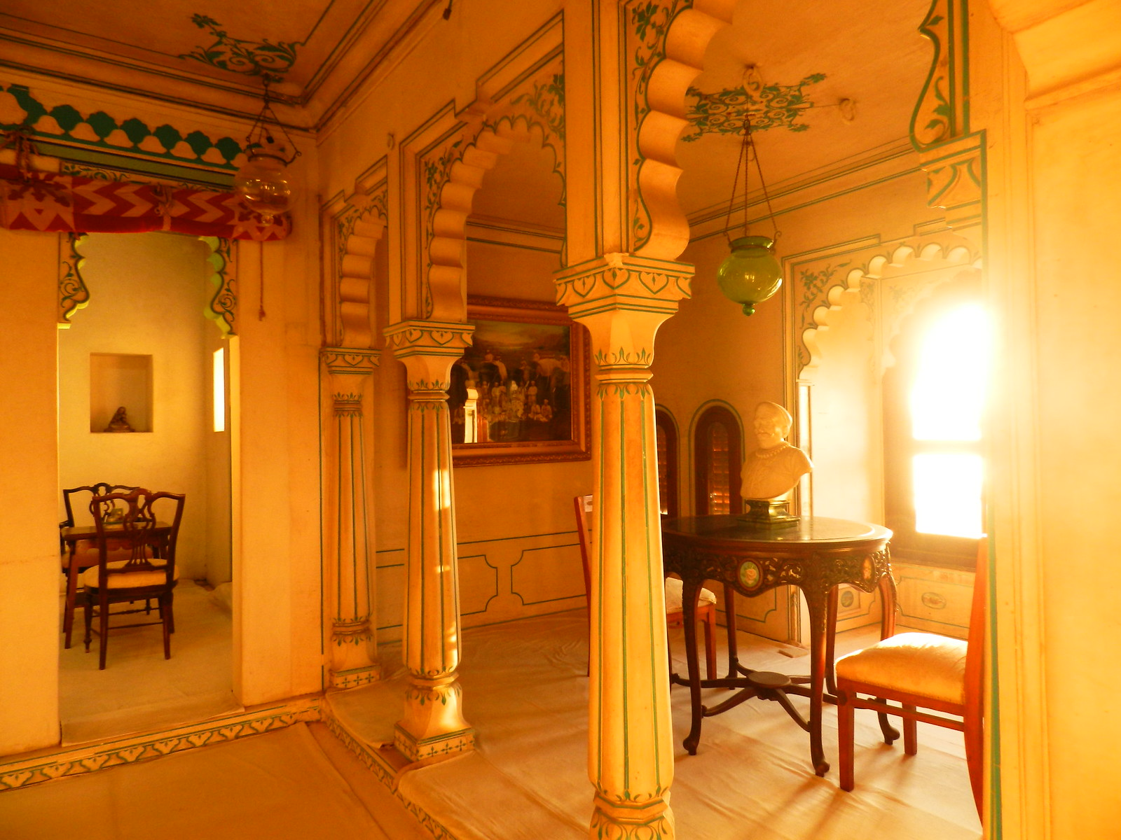 interior, city palace, udaipur, royal, rajasthan