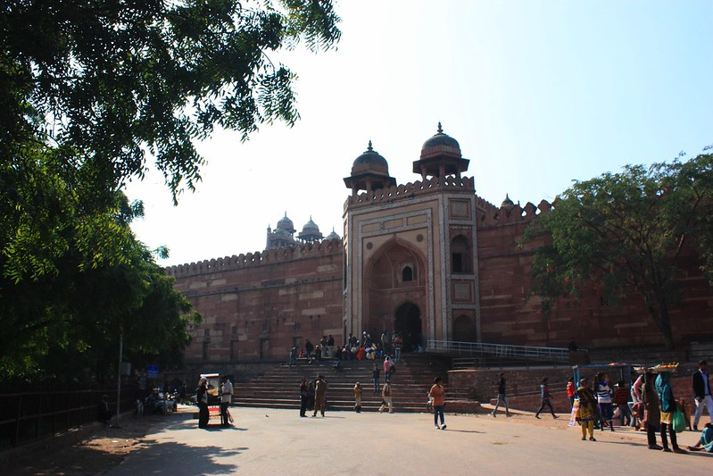 Фатехпур-Сикри вход в Jama Masjid
