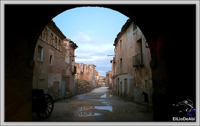 Que ver en Belchite viejo de día y de noche 14