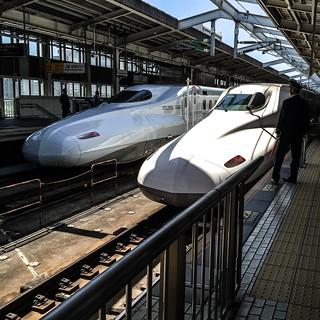 東京→大阪→東京 ∞の字の乗り鉄旅