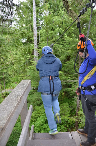 Southeast Exposure Zipline Trek, Ketchikan
