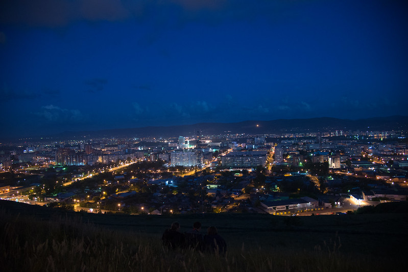 City Birthday of Krasnoyarsk (and Russia Day, June 12)