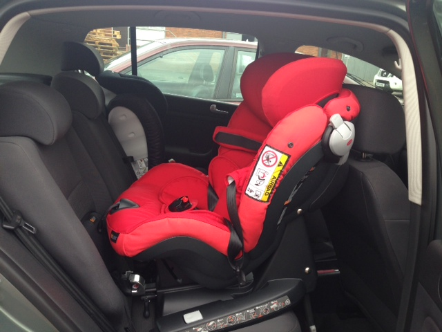 Besafe Izi Combi X4 Isofix in a VW Golf Plus 56 plate   Flickr