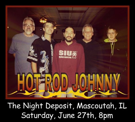 Hot Rod Johnny 6-27-15