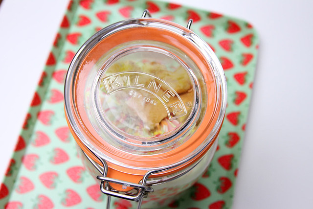 Cake in Kilner Jar