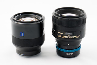 ZEISS Batis 1.8/85 vs. Nikon AF-S Nikkor 85 mm 1.8 G with adapter - DSC03627_1920 | by H.Hackbarth