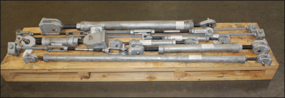 Custom Designed Sway Struts for a Chemical Plant in Texas