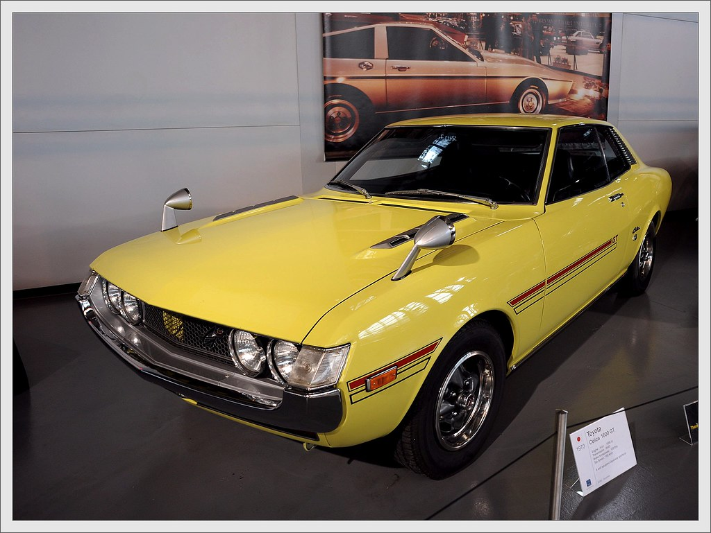 Toyota Celica 1600 Gt 1973 Ruud Onos Flickr By