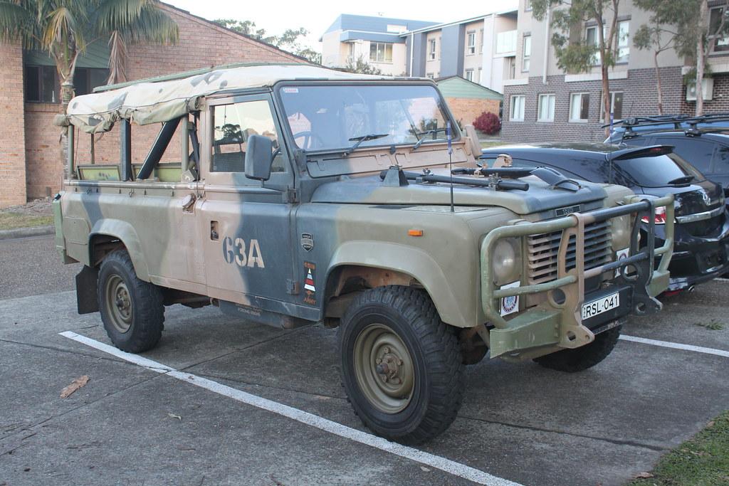 Land Rover Defender 110 Ex Australian Army Jeremy Flickr
