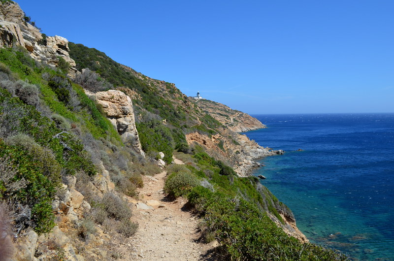 The Sentier de Revellatta leading to the lighthouse, Calvi, Corsica