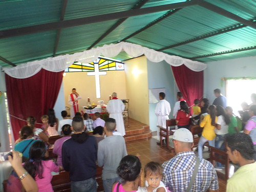 Dedication of the chapel.