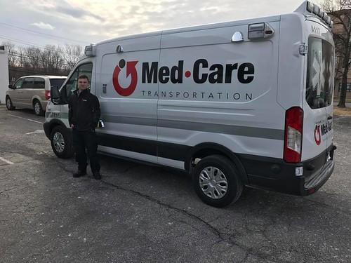 Maryland Ambulance Ford Transit 250 Medium Roof 148