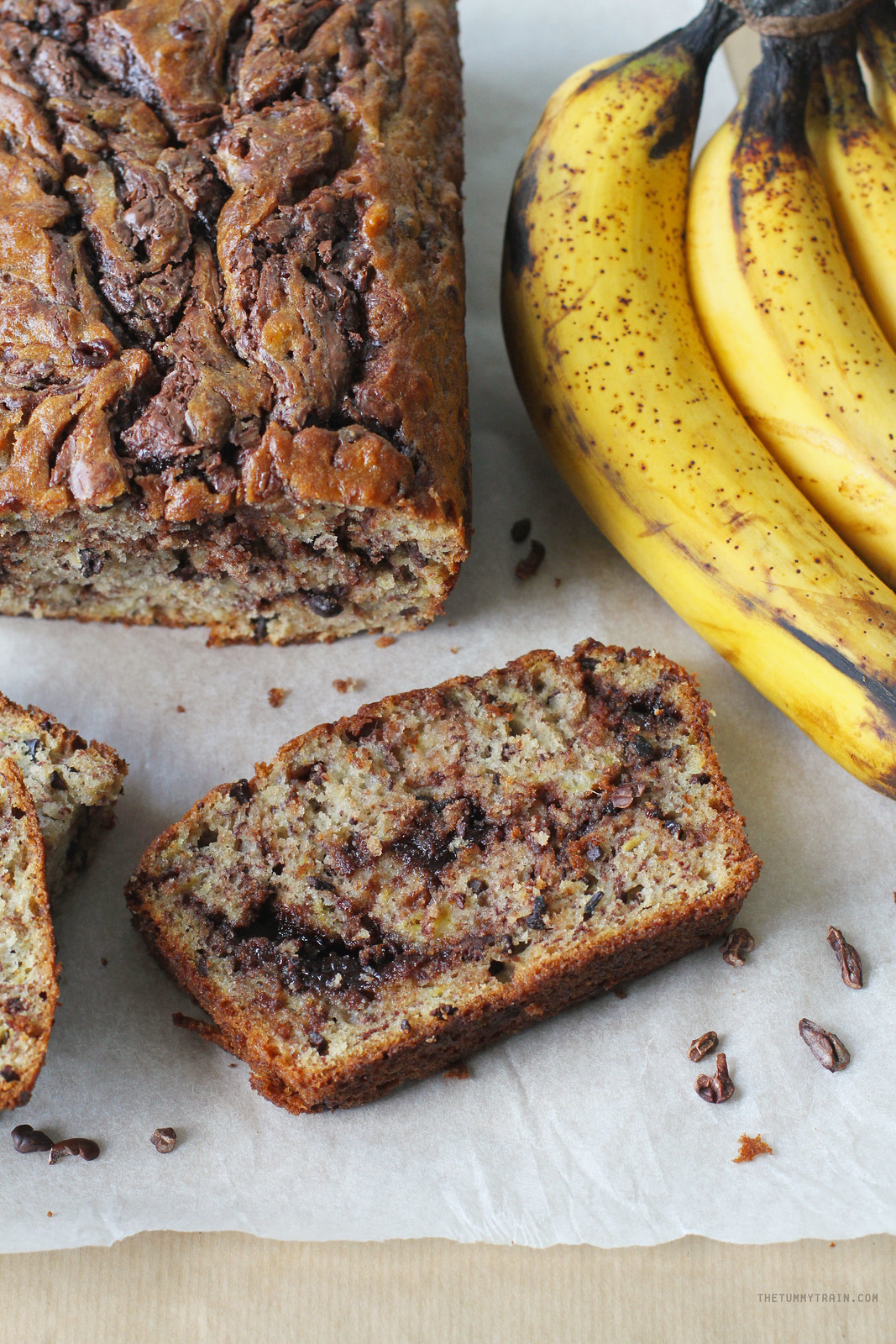 32119817885 ebfe4d78a5 h - Double trouble with this particular variation of a Chocolate Banana Bread Recipe