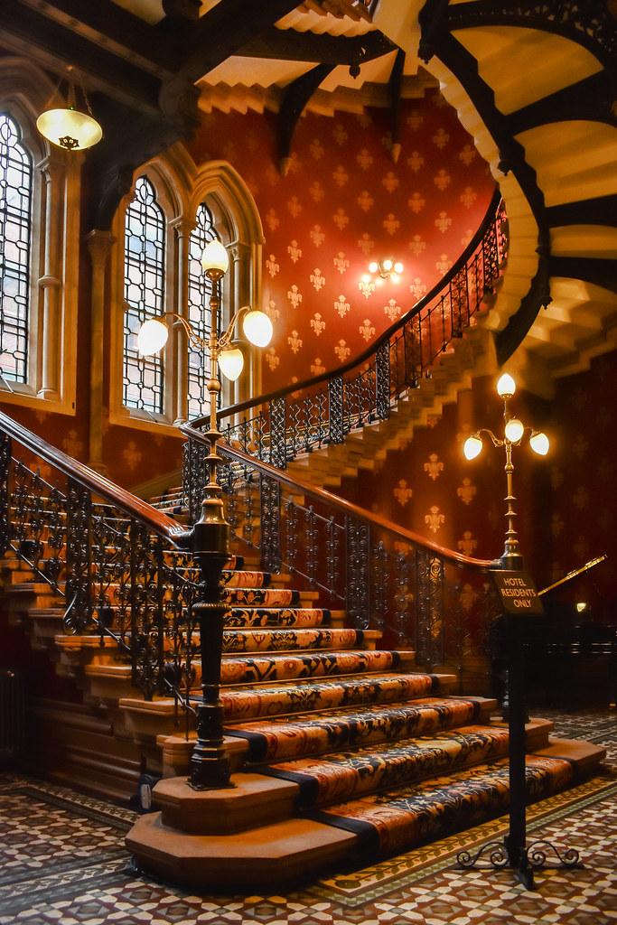 ... Victorian Staircase, St Pancras   By Karolgadge