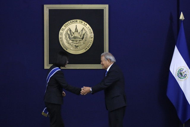 Visita Oficial de Presidenta de República de China (Taiwan)