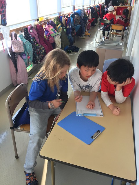 2M creating  survey with our learning buddies
