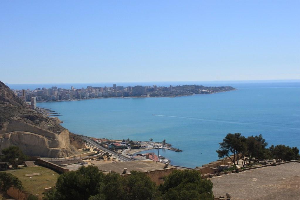 Näkymä Alicanten ylle