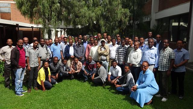 Collaborative Action Research Workshop participants June 15- 17 at ILRI Campus, Addis Ababa (photo credit: ILRI\Aklilu Bogale)