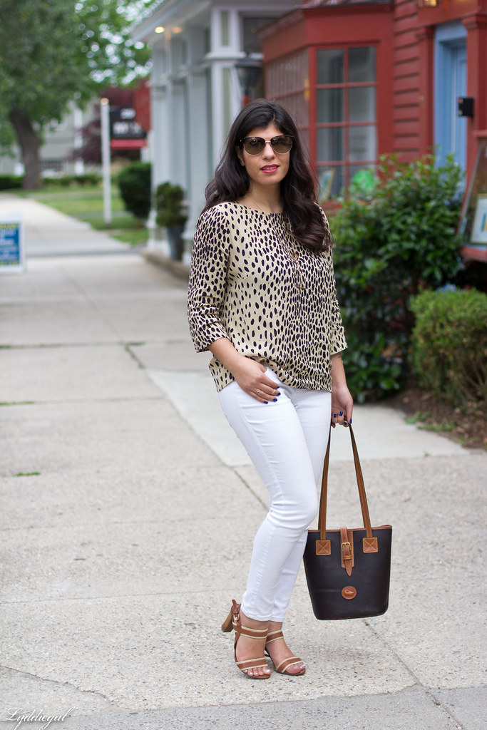 leopard tunic, white denim, leather tote-4.jpg